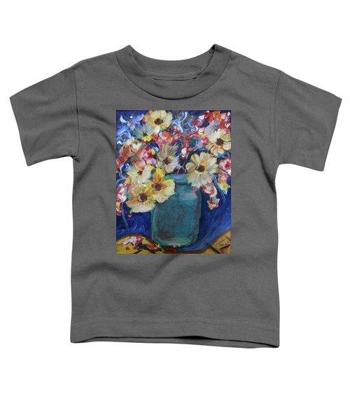 Bouquet Flowers Of Blue  Toddler T-Shirt