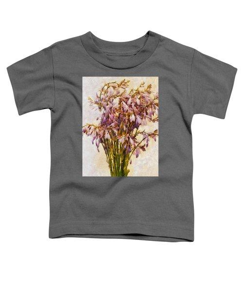 Bouquet Of Hostas Toddler T-Shirt