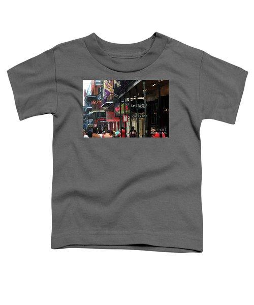 Bourbon Street Toddler T-Shirt