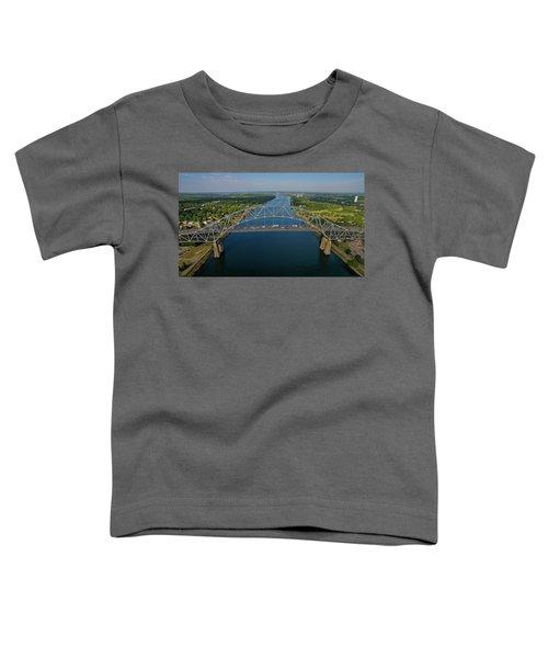 Bourne Bridge, Ma Toddler T-Shirt