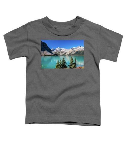 Bow Lake Toddler T-Shirt