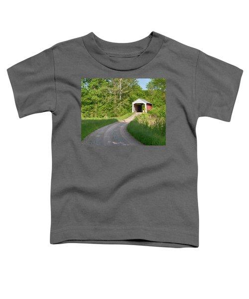 Bowser Ford Covered Bridge Lane Toddler T-Shirt