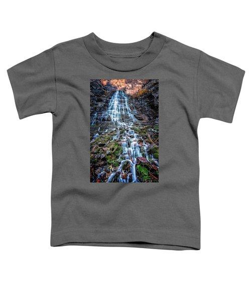 Bridal Veil Falls Utah Toddler T-Shirt