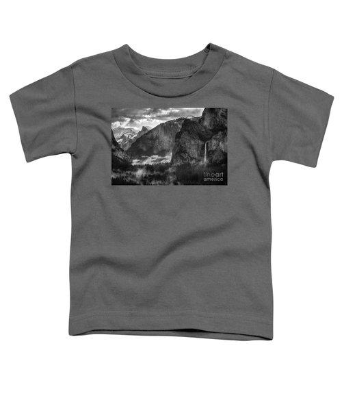 Bridalvail Falls And Half Dome Toddler T-Shirt