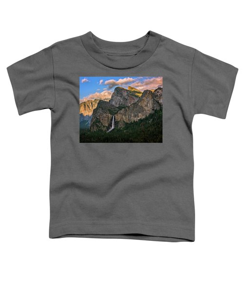 Bridalveil Falls From Tunnel View Toddler T-Shirt