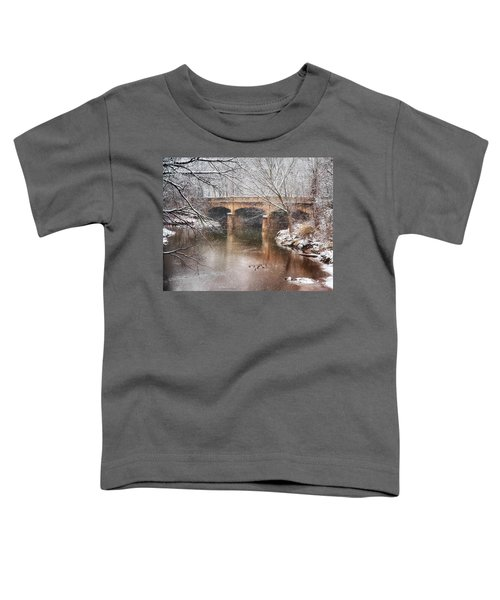Bridge In Winter  Toddler T-Shirt