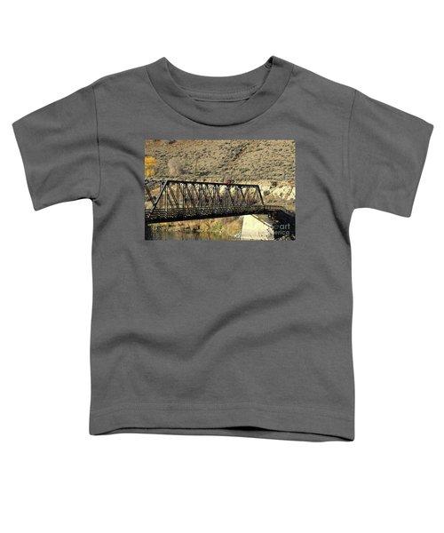 Bridge Over The Thompson Toddler T-Shirt