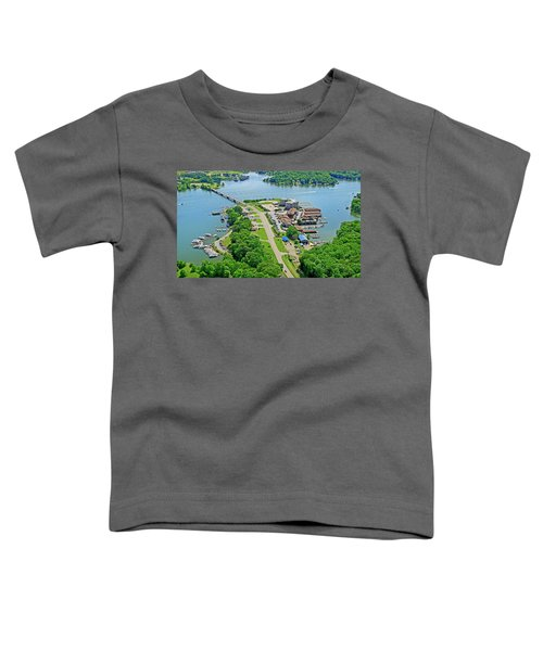 Bridgewater Plaza Aerial Toddler T-Shirt