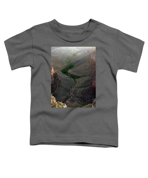 Bright Angel Trail From The South Rim, Grand  Canyon Toddler T-Shirt