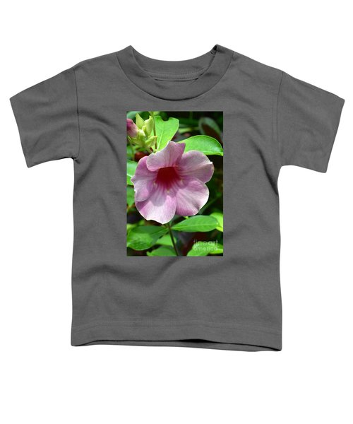 Bright Mandevillia Toddler T-Shirt
