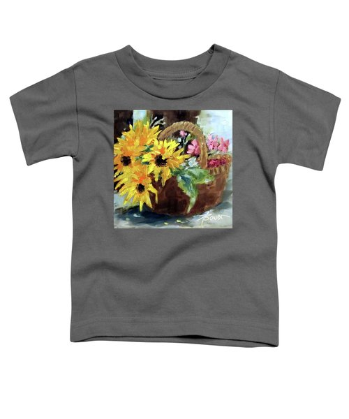 Bringing In The Sunshine  Toddler T-Shirt