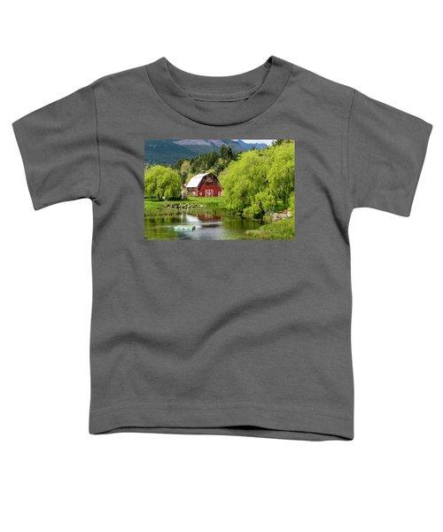Brinnon Washington Barn Toddler T-Shirt