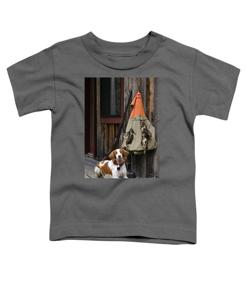Brittany And Woodcock - D002308 Toddler T-Shirt by Daniel Dempster