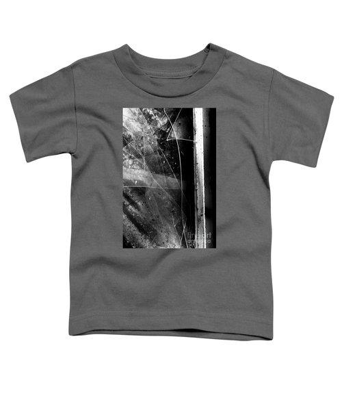 Broken Glass Window Toddler T-Shirt