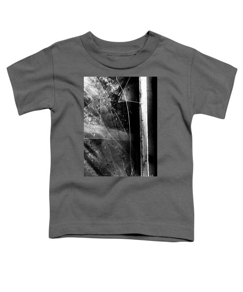 Broken Glass Window Toddler T-Shirt