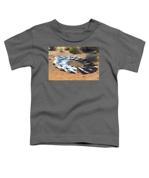Broken Wheel Of Fortune Toddler T-Shirt