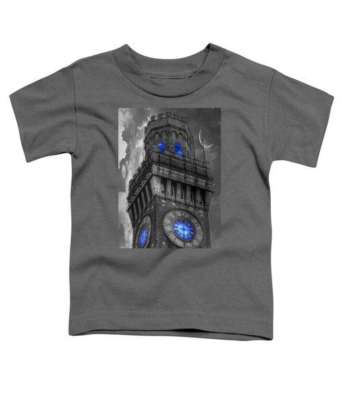 Bromo Seltzer Tower Baltimore - Blue  Toddler T-Shirt