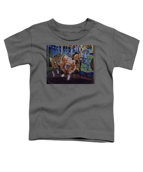 Bronc Busting 101 Toddler T-Shirt