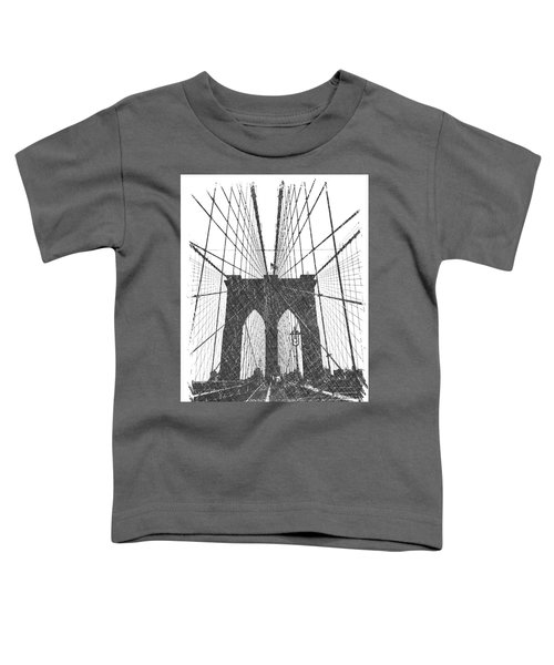 Brooklyn Bridge Toddler T-Shirt