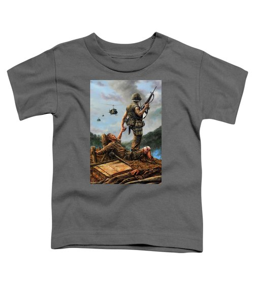 Brothers In Arms Toddler T-Shirt