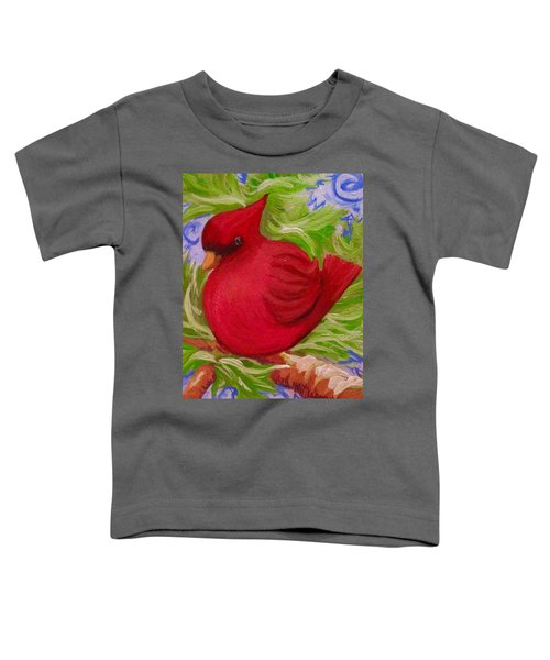 Brrr Bird Toddler T-Shirt