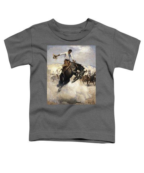 Bucking Toddler T-Shirt