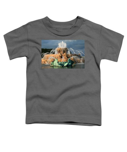 Buckingham Fountain Toddler T-Shirt