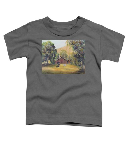 Bucks County Pa Barn Toddler T-Shirt