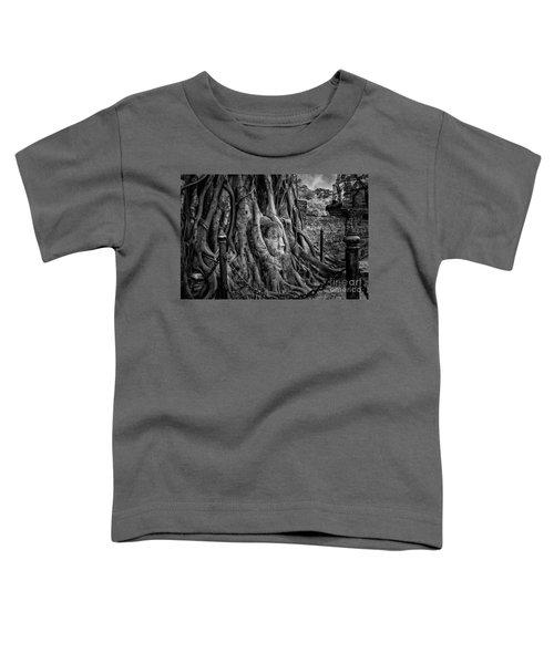 Buddha Head Ayutthaya Toddler T-Shirt