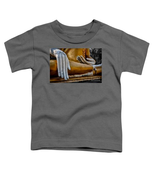 Buddhist Statue Toddler T-Shirt