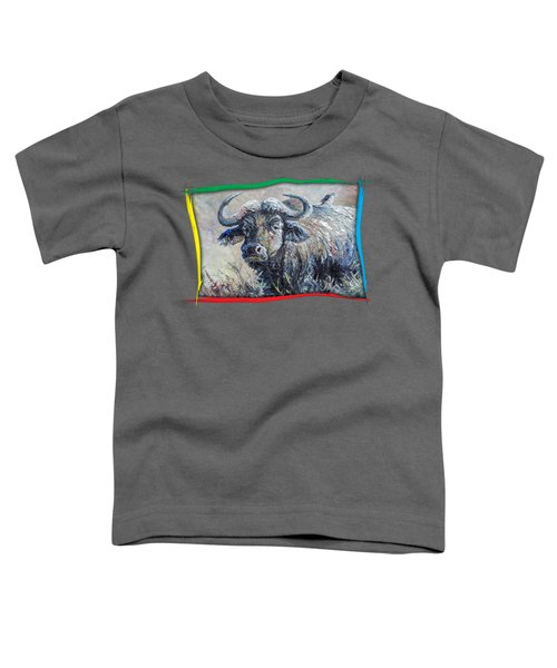 Buffalo And Bird Toddler T-Shirt
