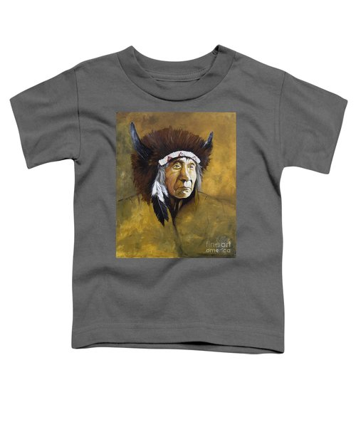 Buffalo Shaman Toddler T-Shirt
