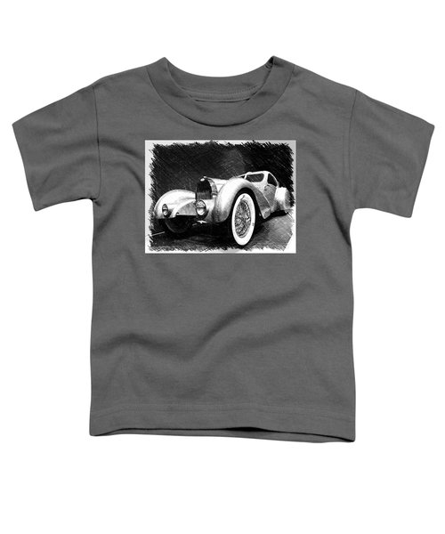 Bugatti Type 57 Aerolithe Toddler T-Shirt