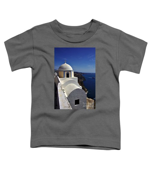 Building In Fira Toddler T-Shirt
