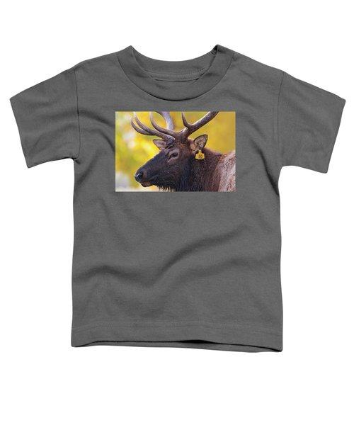 Bull Elk Number 10 Toddler T-Shirt