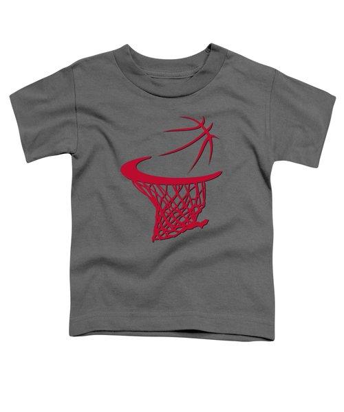 Bulls Basketball Hoop Toddler T-Shirt