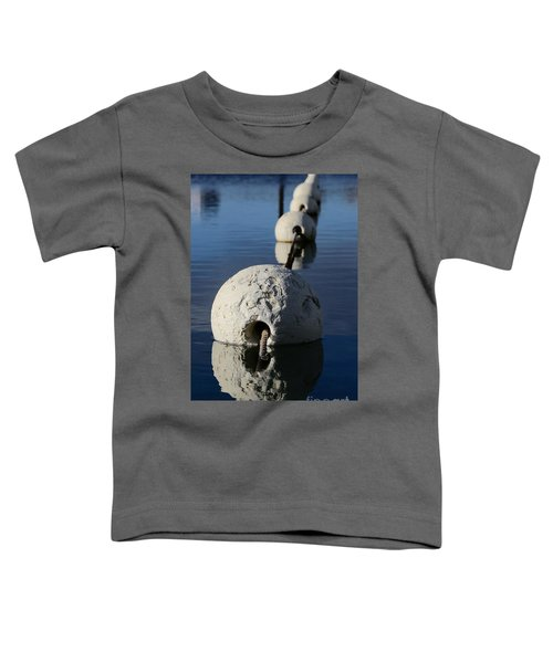 Toddler T-Shirt featuring the photograph Buoy In Detail by Stephen Mitchell