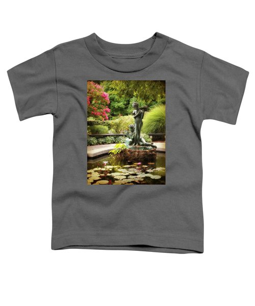 Burnett Fountain Garden Toddler T-Shirt