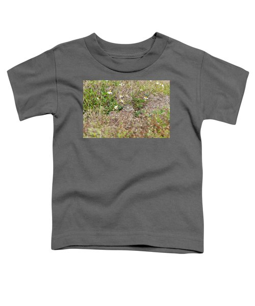 Burrowing Owl Outside His Home Toddler T-Shirt