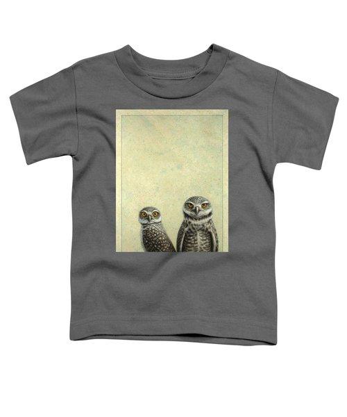Burrowing Owls Toddler T-Shirt