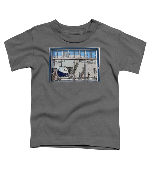 Vintage Bus Depot Sign Toddler T-Shirt