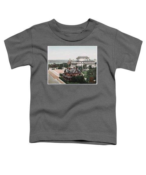 Butler Library At Columbia University Toddler T-Shirt
