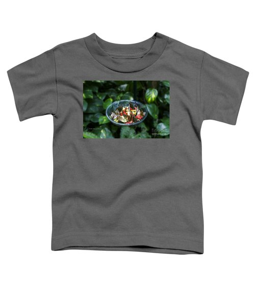 Butterflies Feeding Toddler T-Shirt