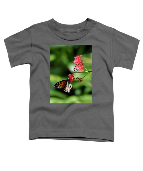 Butterfly And Blossom Toddler T-Shirt
