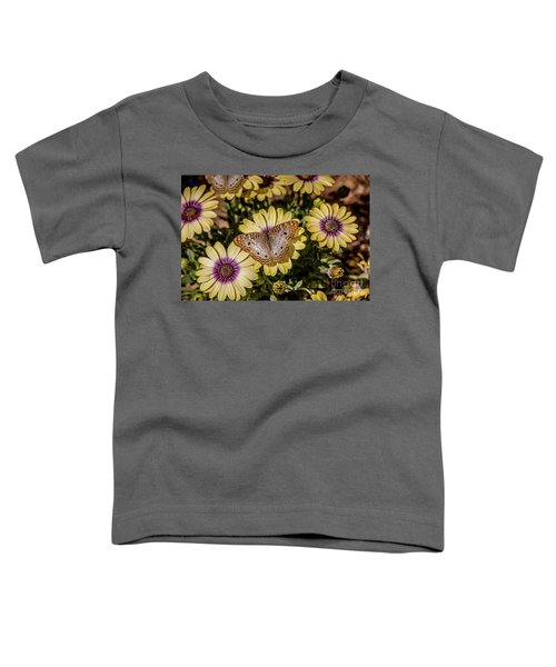 Butterfly On Blossoms Toddler T-Shirt