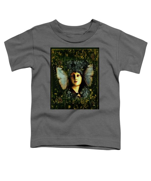 Butterfly Woman Toddler T-Shirt