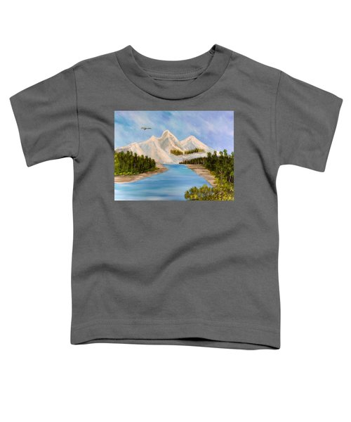 By The Riverside Toddler T-Shirt