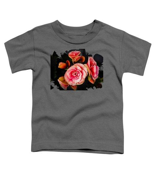 Bygone Begonias Toddler T-Shirt
