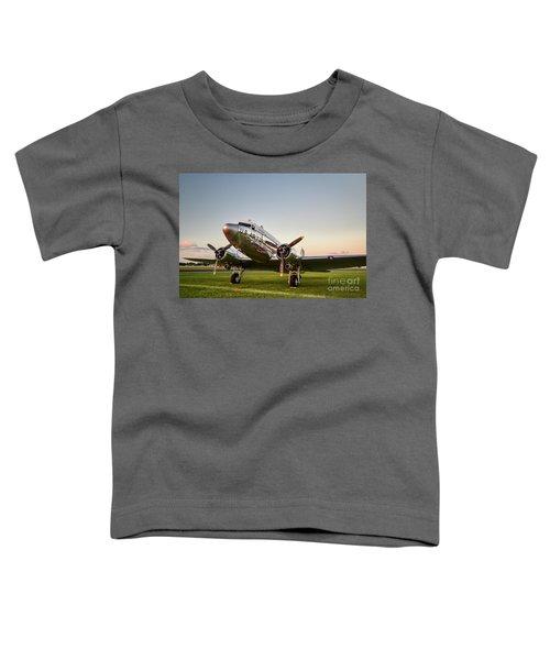 C-47 At Dusk Toddler T-Shirt
