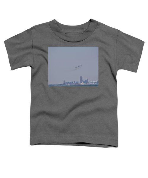 C130 Over Buffalo Toddler T-Shirt